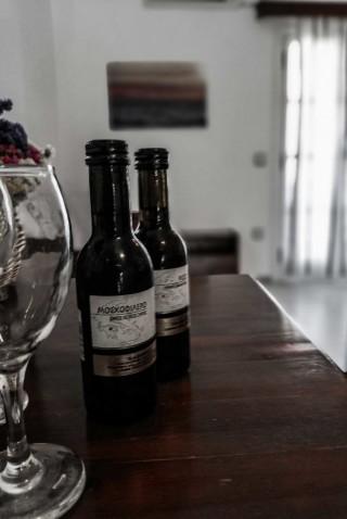 accommodation diamantis studios welcome drink