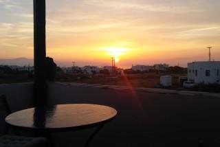 comfort studio diamantis sunset view